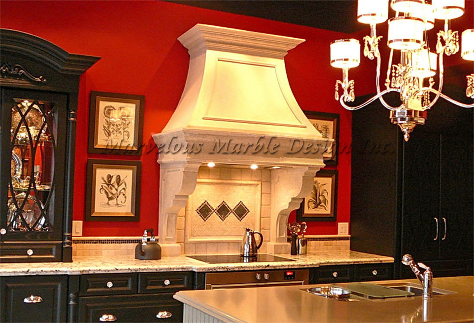 Transform Your Kitchen With A Cast Stone Range Hood